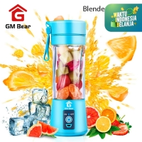 GM Bear Portable Blender Ulir 6 Mata Pisau 1065-Portable Blender