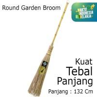 Sapu Lidi Gagang Berkualitas alat kebersihan 980253 sapu lidi taman