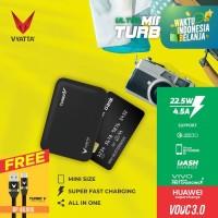 VYATTA MINI TURBO V VOOC 3.0 POWERBANK 22.5W - Huawei FCP, Vivo, QC3.0