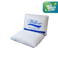 Bantal Latex Travel / Willow Pillow Travel Latex