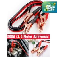 Kabel Jumper / Kabel Booster untuk Baterai Aki Mobil (1.8m / 500A)