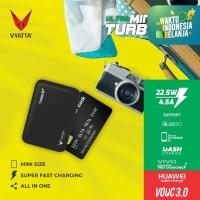 VYATTA MINI TURBO V VOOC 3.0 POWERBANK 22.5W - Huawei, Vivo, QC3.0 -NF