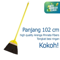 Sapu Lantai Sapu Ijuk Broom Cleanmatic 990245 Gunung Sewu