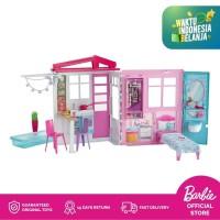 Barbie 2-Story House Rumah Boneka Permainan Toy Anak Perempuan