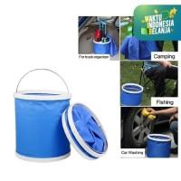 Ember Lipat Portable Multifungsi 9 Liter 9 L Folding Bucket Portable