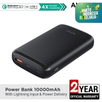 Aukey Powerbank 10000mAh with Lightning Input & Power Delivery-500382