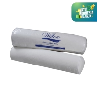 Guling Latex / Willow Pillow Bolster Latex Cover Knitting