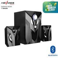 Speaker Aktif Bluetooth Advance M10BT USB Subwoofer Bass Portable