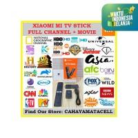 Mi TV Stick Xiaomi Android Box Full Channel Movie Smart TV