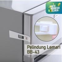 Pengaman laci Kotak kunci lemari baby safety kunci laci Pengunci BB-43