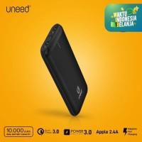 UNEED QuickBox 107 Powerbank 10000mAh QuickCharge 3.0 & PD - UPB107