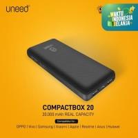 UNEED CompactBox 20 Powerbank 20000mAh Real Capacity - UPB401.2