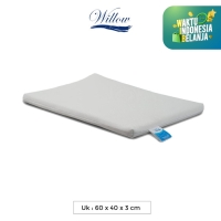Bantal Latex Penambah Tebal 3cm / Willow Pillow Flat Pillow