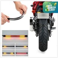 LAMPU LED MOTOR REM SEN SIGN MOTOR LAMPU PLAT MOTOR FLEXIBLE 17 CM