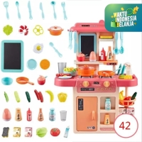 Mainan Anak Simulasi Alat Masak/Kitchen Set - MODERN KITCHEN 42pcs