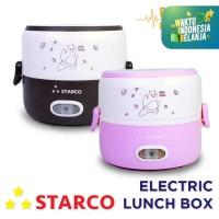 Starco Electric Lunch Box Mini/Mini Rice Cooker Multifungsi 1 Tingkat