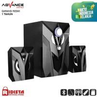 Speaker Advance Aktif Portable M10BT Bluetooth Subwoofer BASS -T403