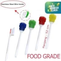 Sikat Dapur Food Grade Anti Karat LongHandle Brush High Quality 201389