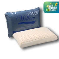Bantal Latex / Willow Pillow Standard Latex Cover waterproof
