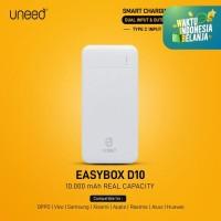 UNEED EasyBox D10 Powerbank 10000mAh Smart Charging 2.1A – UPB414