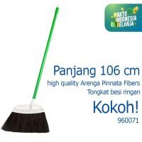 Sapu Lantai Putih Sapu Ijuk Broom Cleanmatic 960071