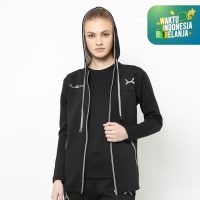 FLEXZONE Jaket Sport Wanita Gym Running Jogging Sport FJS-502HT