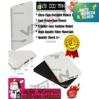 Power Bank XiaoMi Ultra-Thin 128000mAh | Leather Fashion Motif | OEM
