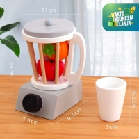 Mainan Anak Simulasi Kitchen Set ~ TOASTER - JUICER - COFFEE MACHINE