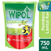 Wipol Pembersih Lantai Sereh&Jeruk 750Ml