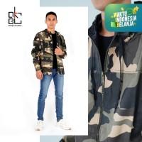 Okechuku JACOB Jaket Murah Parka Distro Motif Army Fashion Pria