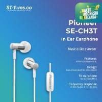 Pioneer SE-CH3T In Ear Earphone Hi-Res Audio