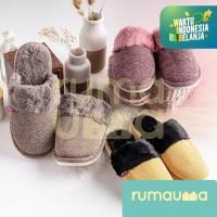 Sandal Slipper Bulu Tidur Rumah Anak Wanita Dewasa Murah Berkualitas