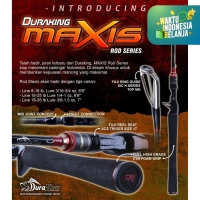 """DURAKING CASTING MAXIS MBCS 6'6"""" LINE RATING 8-16 LBS"""