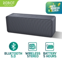 ROBOT Speaker Bluetooth 5.0 Portable Support Micro SD-USB-AUX - RB420