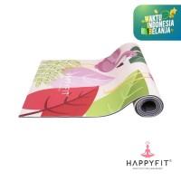 HAPPYFIT YOGAMAT PVC FLAMINGO 5MM PINK
