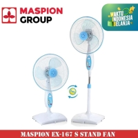 Maspion Stand Fan 2in1 EX-167 S Kipas Angin [16 Inch]