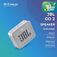 JBL GO 2 Portable Bluetooth Speaker - Grey