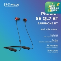 Pioneer SEQL7BT Earphone Bluetooth Connection with NFC