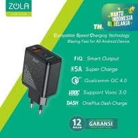 Zola Thunder V Charger VOOC 3.0, QC4.0, SuperCharge, FlashCharge 22,5W