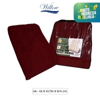 Bantal Sandaran Mobil Memory Foam/Willow Pillopedic Automotive CushRED