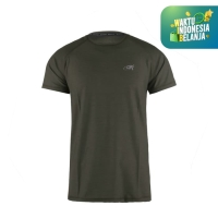 Running Jersey - DK Basic Color Tee Man Green Army