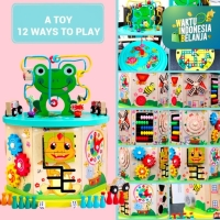 Mainan Edukasi Anak Box Multifungsi Premium - WINDING BEAD TOY SERIES