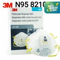 Masker 3M 8210V Particulate Respirator N95