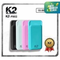 Powerbank K2-PB02 10000Mah K2 PREMIUM QUALITY Garansi Resmi 18Bln REAL