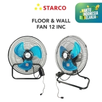 Starco Kipas Angin 2 in 1 Kipas Angin Lantai /Kipas Angin Dinding