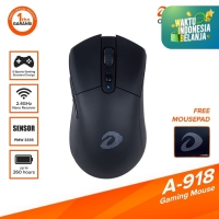 DAREU A-918 Wireless Gaming Mouse | PixArt 3335 Sensor 2.4 Ghz