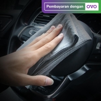 Lap Kanebo / Chamois Dotted Premium Quality Untuk Mobil / Motor