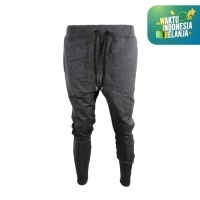 DK Longpants (Unisex) Trackpants Rib Fleece Black
