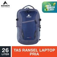Eiger Nomadic Laptop Backpack 26L - Grey / Tas Laptop