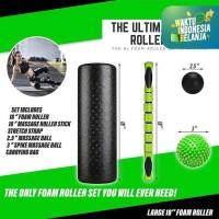 Yoga roller foam gym fitness SET +TAS